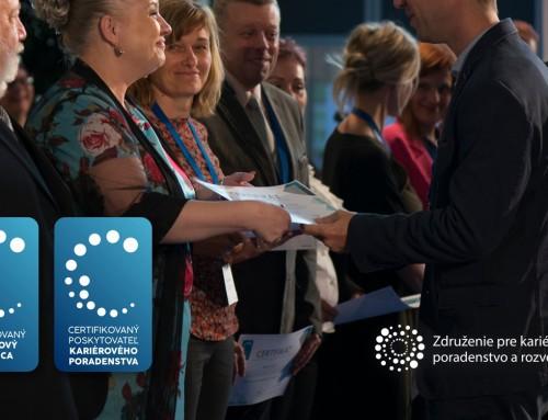 Kvalita v kariérovom poradenstve: Otvárame certifikáciu poradcov a poskytovateľov